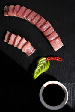 Dinko Tuna served at Kris Bunder's Seafood Masterclass