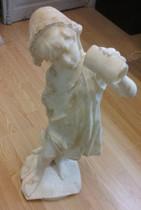 statuette en albâtre