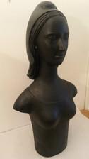 buste de Mariane en plâtre