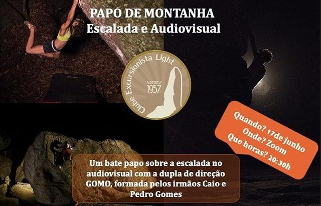 Papo de Montanha: ESCALADA E AUDIOVISUAL