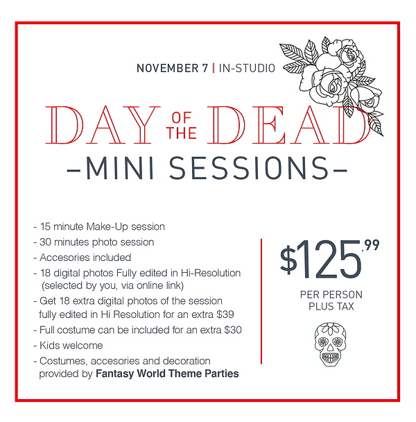 day of the dead mini sessions box websit