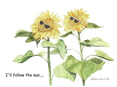 Note Card: I'll Follow the Sun...