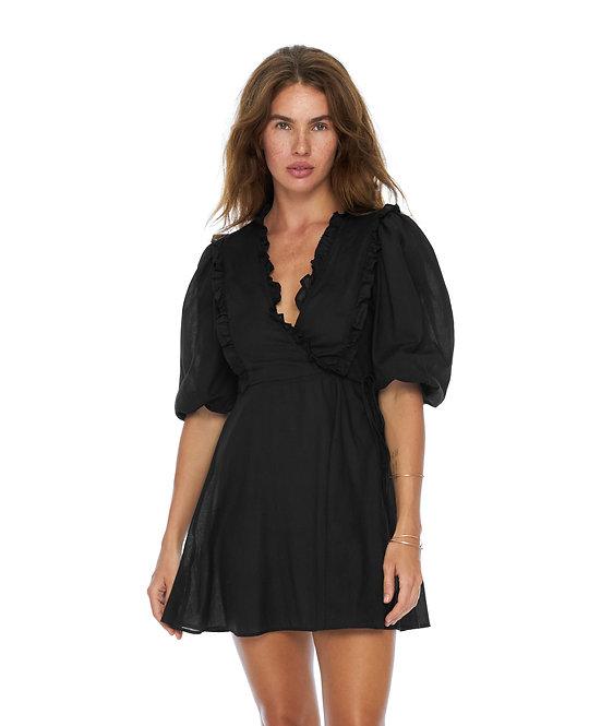 Черное платье Azumi /100%  хлопок