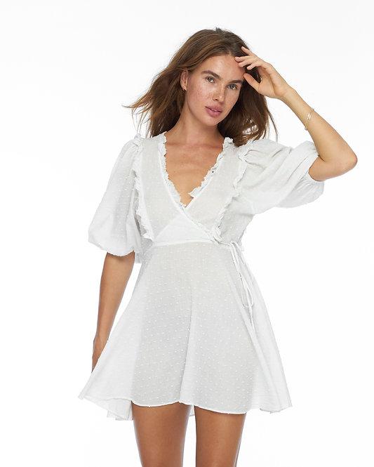 Белое Платье Azumi / 100% органический хлопок