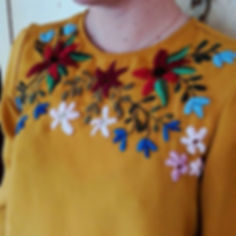 Here's some examples of embroidery that