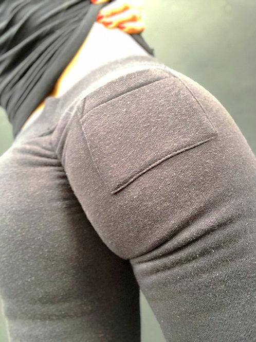 Scrunch Booty Joggers Black