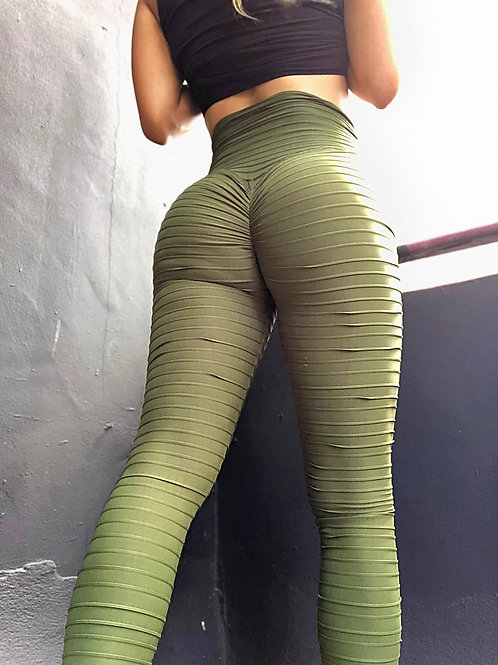 Kitty Kat in Army Green