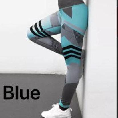 Santa Monica Leggings - Blue