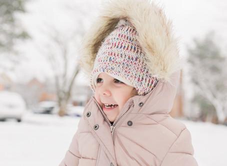 Snow Fun | Howard County, MD | Howard County Lifestyle Photographer