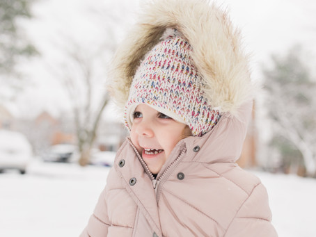Snow Fun | Howard County, MD | Howard County Lifestyle Photographer