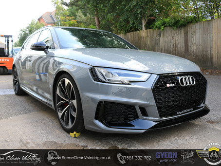 Audi RS4 Avant - Gyeon Quartz All Surface Treatment