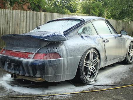Porsche 993 - Body Protection Detail