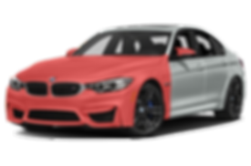 BMW M3 PPF - FULL FRONT TRANSPARENT PPF