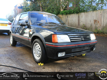 Peugeot 205GTI - Enhancement Detail