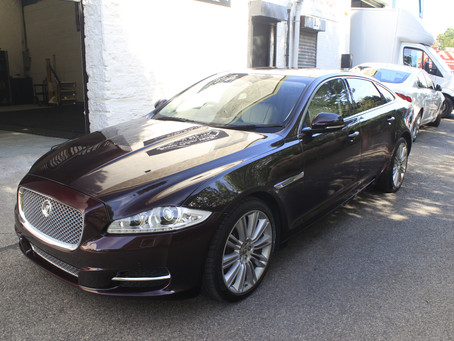 Jaguar XJL Portfolio - Enhancement Detail & Gyeon MOHS and more..