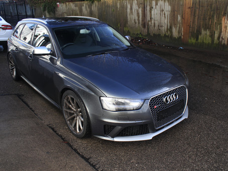 Audi RS4 Avant - Protection Detail & Leather Conditioning