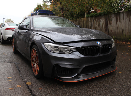 BMW M4 GTS - Gyeon New Car Protection