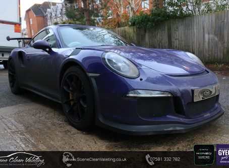 Porsche GT3-RS - Gyeon All Surface Protection