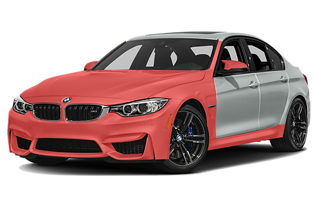 BMW M3 PPF - ADVANCED FRONT PPF ON PNG.p