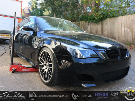 BMW E60 M5 - Enhancement Detail, Gyeon All Surface Ceramic Coating & XPEL Paint Protection Film