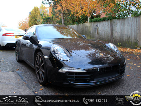 Porsche Carrera S - Enhancement Detail & Gyeon MOHS