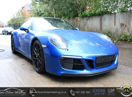 Porsche Carrera GTS - Gyeon New Car Protection