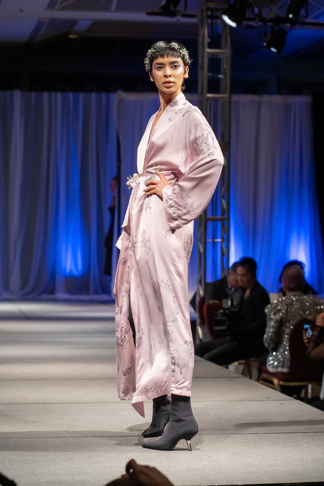 Simran wearing Jessica Reddit Designs for Little Black Dress Gala