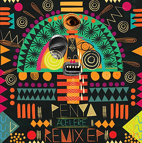 Penya: Acelere Remixed EP. Cover art by Victoria Topping. Remixes by DJ Khalab and Jose Marquez.