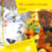 London Lucumi Choir: Moyuba Baba, Moyuba Yeye, album cover art. Praise songs for Oshun and Obatala.