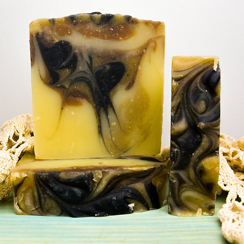 Leather & Lace Soap