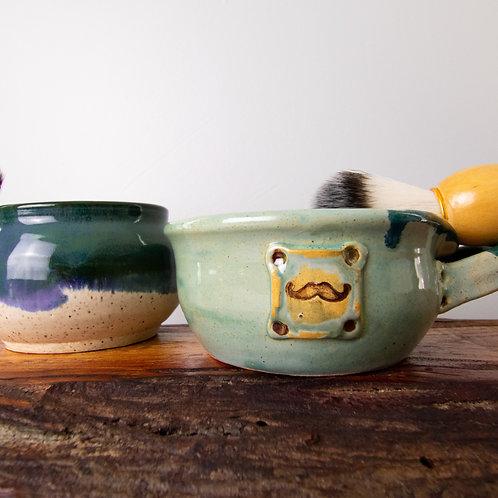 Shave Bowl & Brush