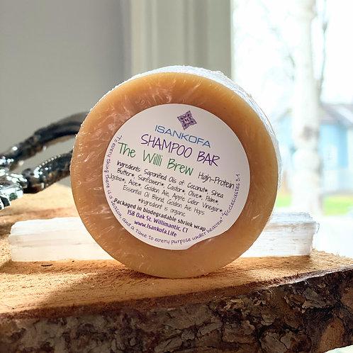 The Willi Brew High-Protein Shampoo Bar