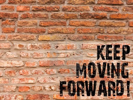 Lessons from a Lineman: Always Move Forward