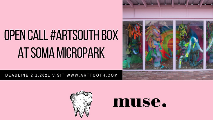 Open Call #ArtSouth Box at Soma Micropark in collaboration Muse.