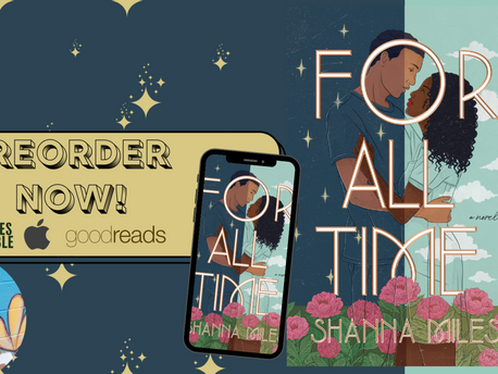 """Shanna Miles on Writing Black Love and Her YA Romance """"For All Time"""""""