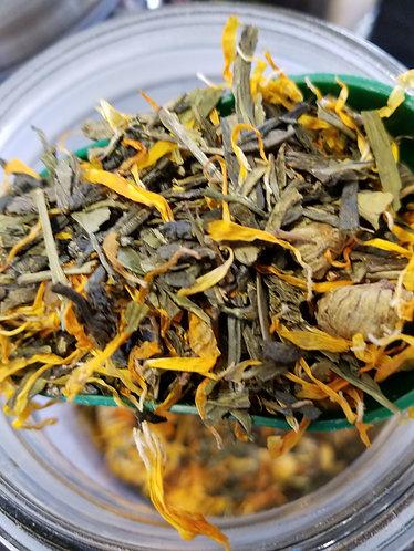 Organic Yellow Dragon - contains caffeine 2oz.