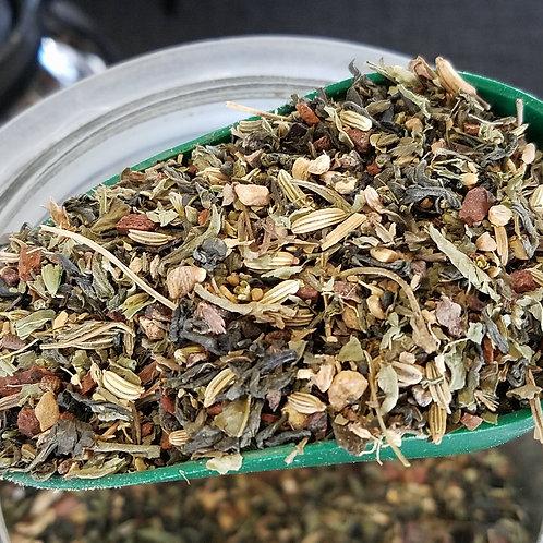 Organic Green Chai - contains caffeine 2oz.