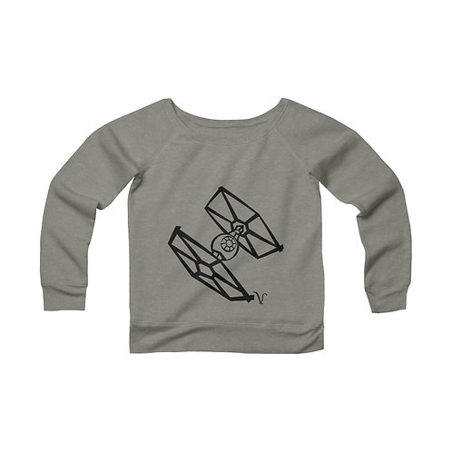TIE Fighter [1] Women's Wide Neck Sweatshirt