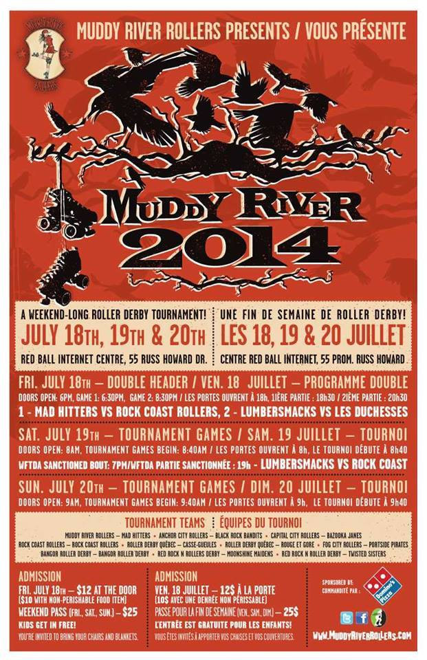 Poster for the Muddy River Tournament