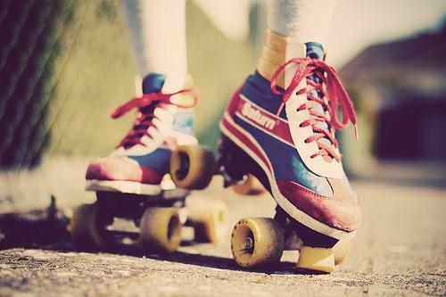 Pair of roller skates