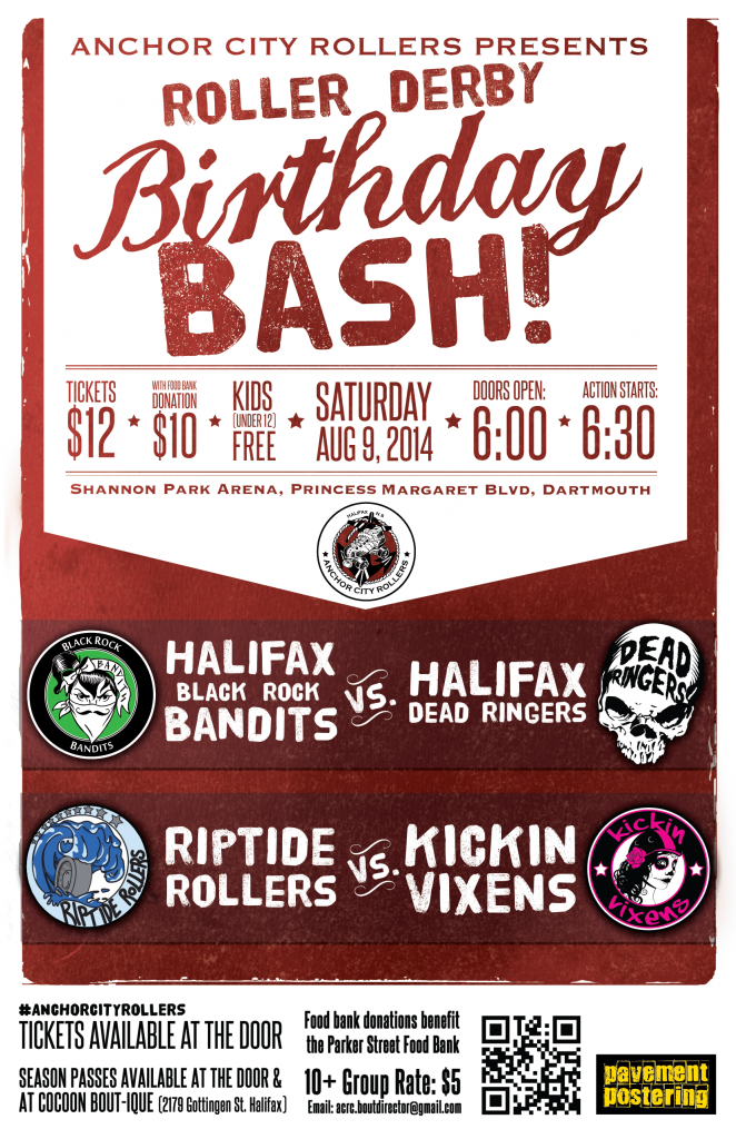 Poster for the Birthday Bash