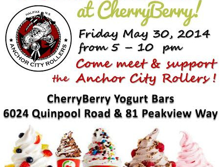 FroYo FUN-draiser at Cherry Berry! TWO Locations!