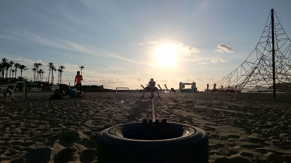 Personal Training Beach Boot Camp