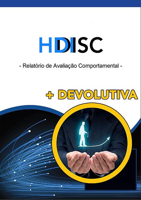 HDI DISC + Devolutiva