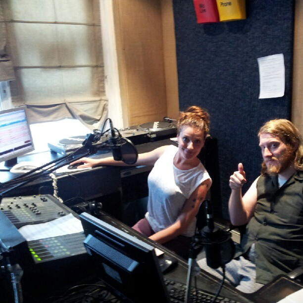 Instagram - Thanks to Sophie and Simon for having me on their All FM show. Apolo
