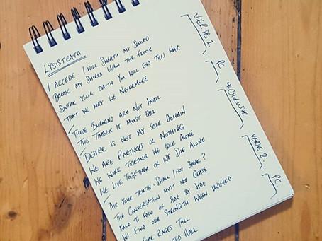 LYSISTRATA - Behind the lyrics