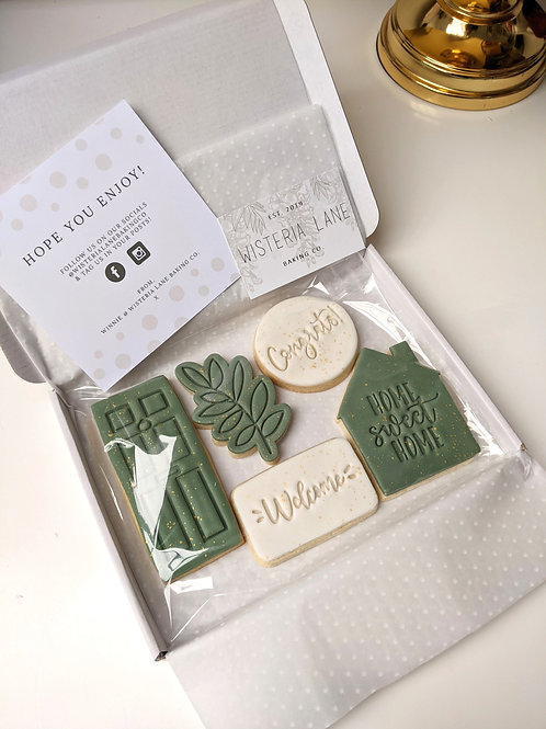 New Home Cookie Set