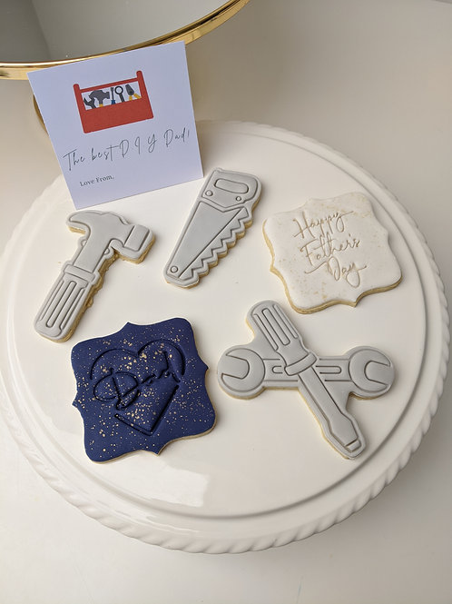 D.I.Y Dad Father's Day Cookie Set