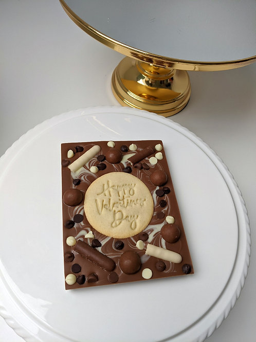Cookie Crunch Chocolate Slab