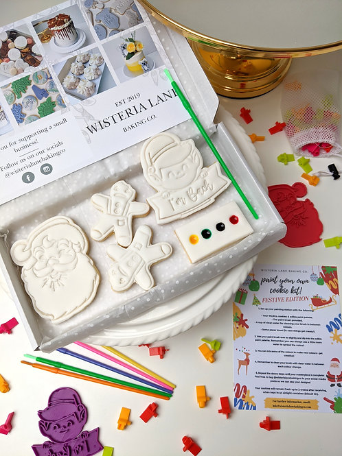 Paint Your Own Cookies - Festive Edition